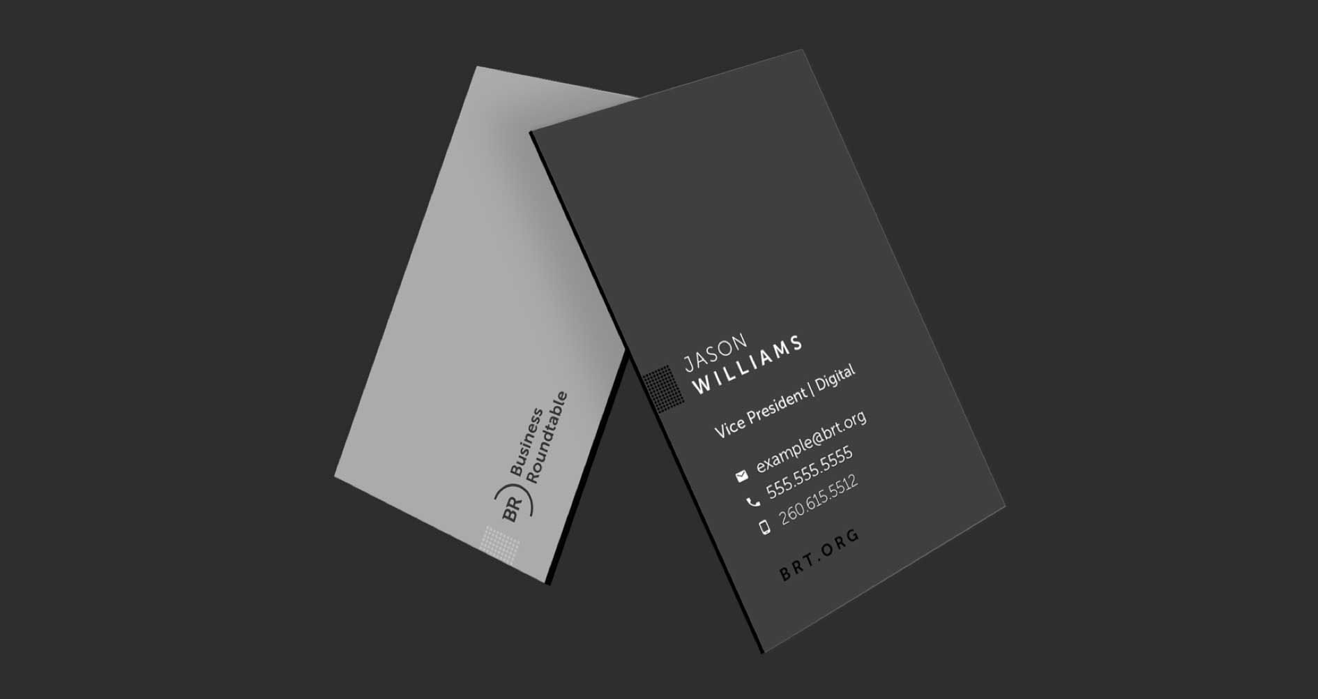 BRT business card concepts